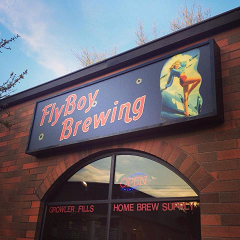FlyBoy Brewing store front